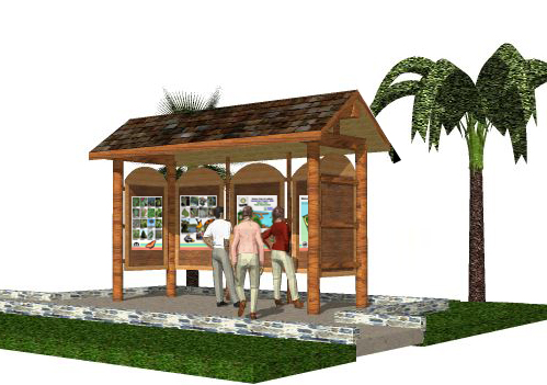 Park Kiosk Plans http://labellenaturepark.net/?page=kiosk